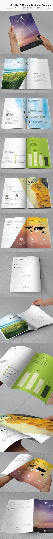 Creative & Minimal Business Brochure - Corporate Brochures