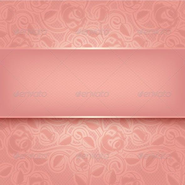 Decorative Pink Template