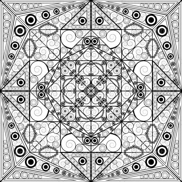 Ornamental Background - Backgrounds Decorative