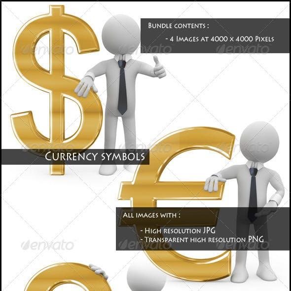Currency Symbols Bundle