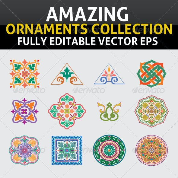 Amazing Ornaments Collection