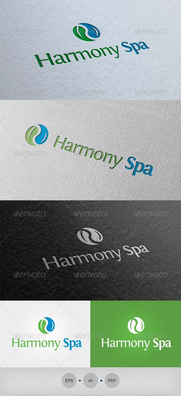 Harmony Spa Logo - Nature Logo Templates