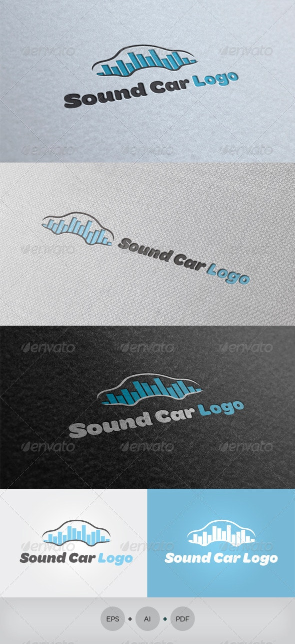 Sound Car Logo - Objects Logo Templates