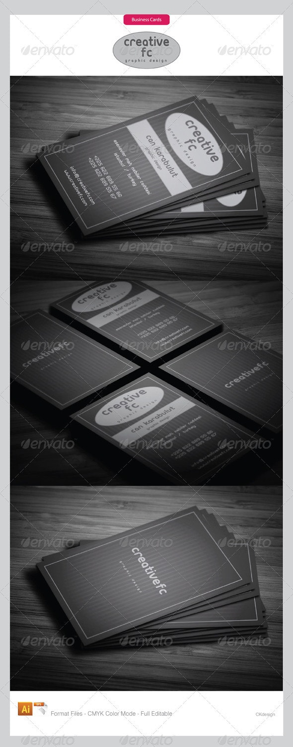 corporate business cards 256 - Creative Business Cards