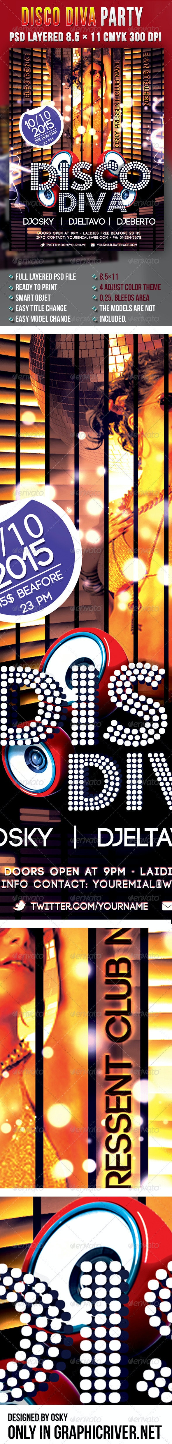 Disco Diva Party - Clubs & Parties Events