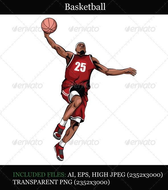Basketball - People Characters