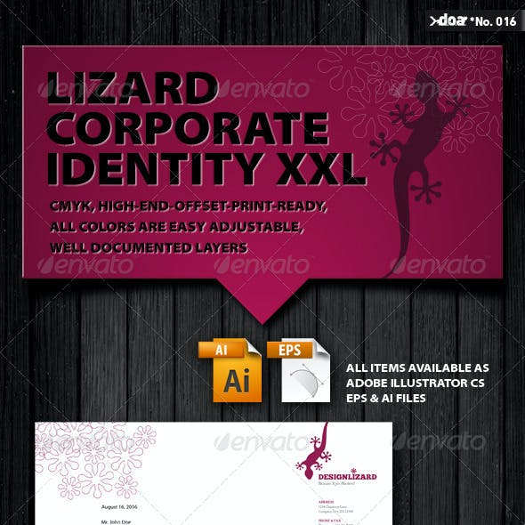 Design Lizard Corporate Identity XXL