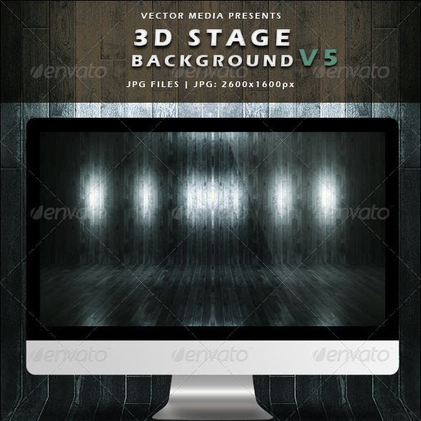3D Stage Background - Vol.5