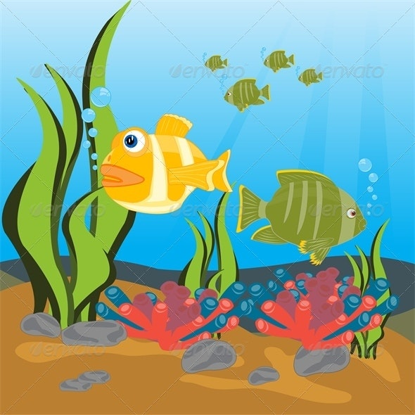 Tropical Fish Seaborne - Animals Characters