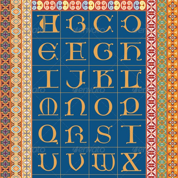 Medieval Letterforms and Patterns