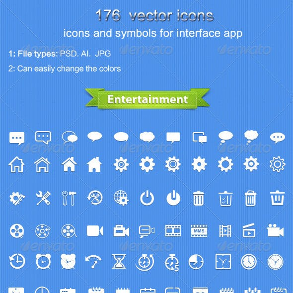 176Vector  icons