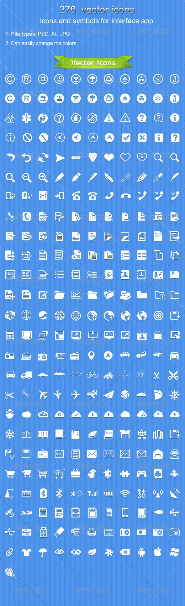 Vector  icons - Icons