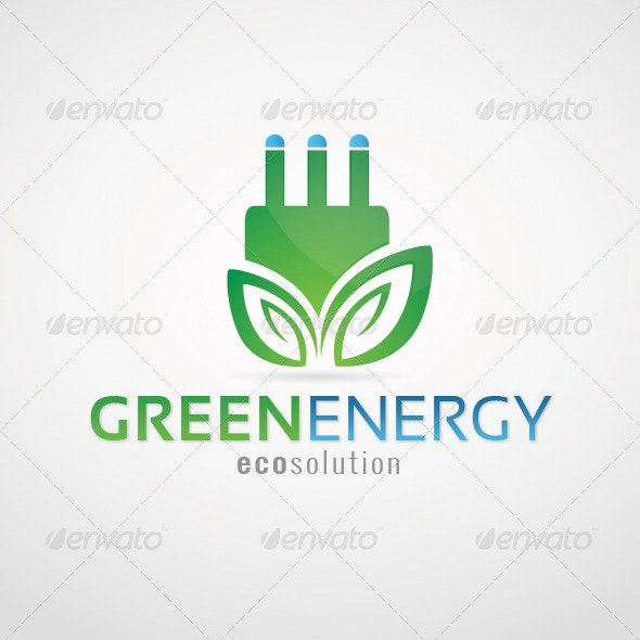 Green Energy - Eco Solutions - Nature Logo Templates