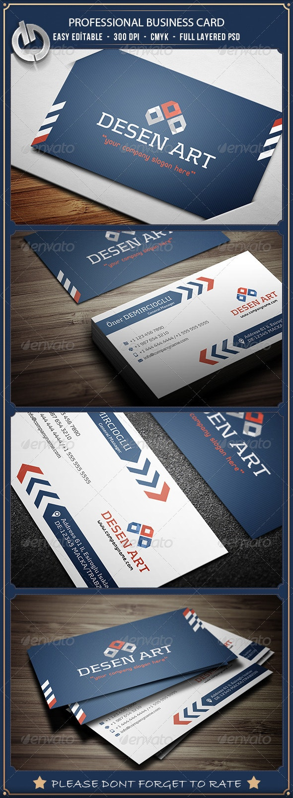 Professional  Business Card 7 - Corporate Business Cards