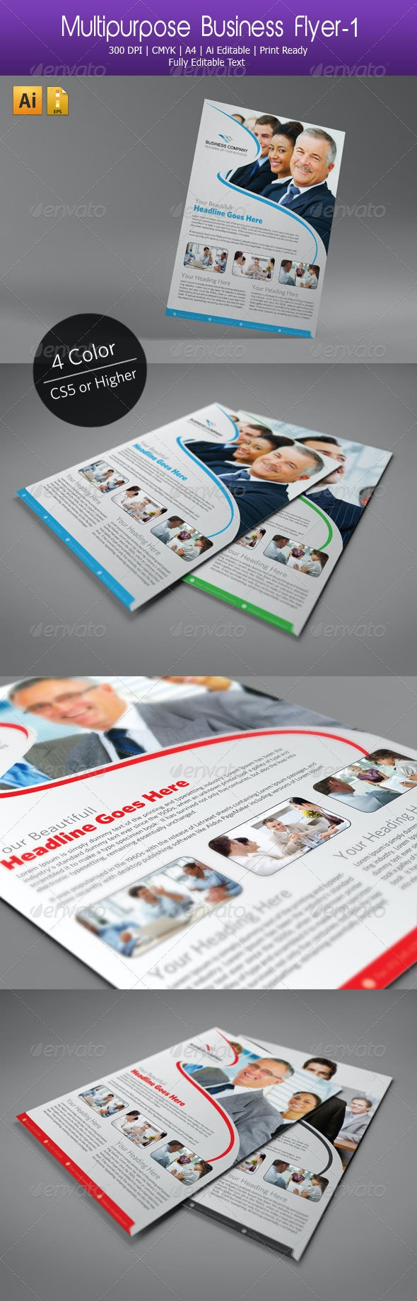 Multipurpose Business Flyer-01 - Corporate Flyers
