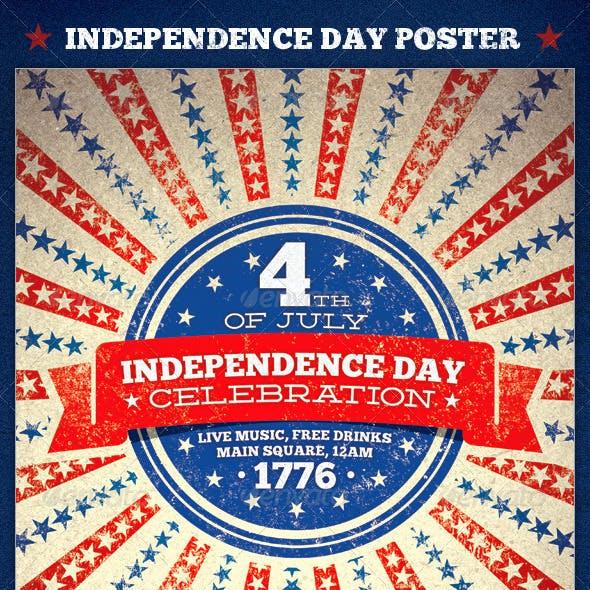 Independence Day Celebration Poster