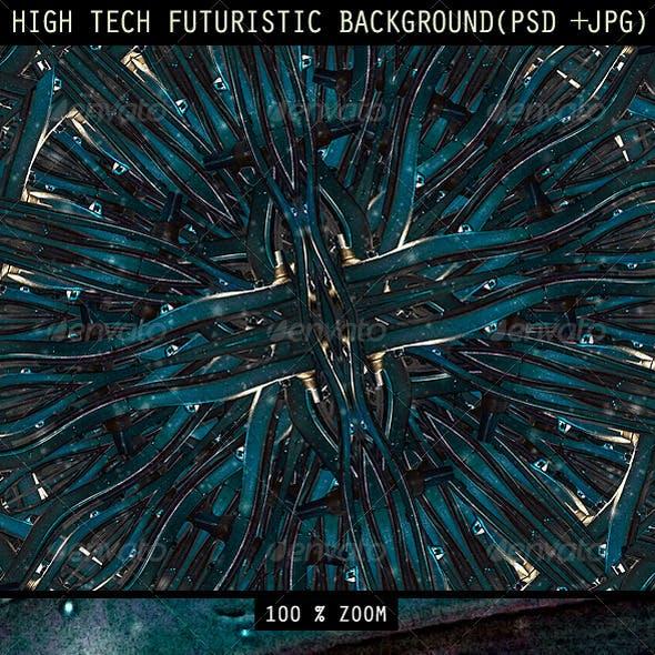 High Tech Futuristic Background