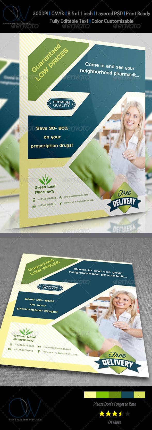 Pharmacy Flyer - Corporate Flyers