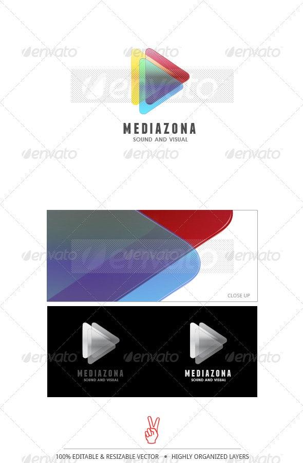 MediaZona Logo - Symbols Logo Templates