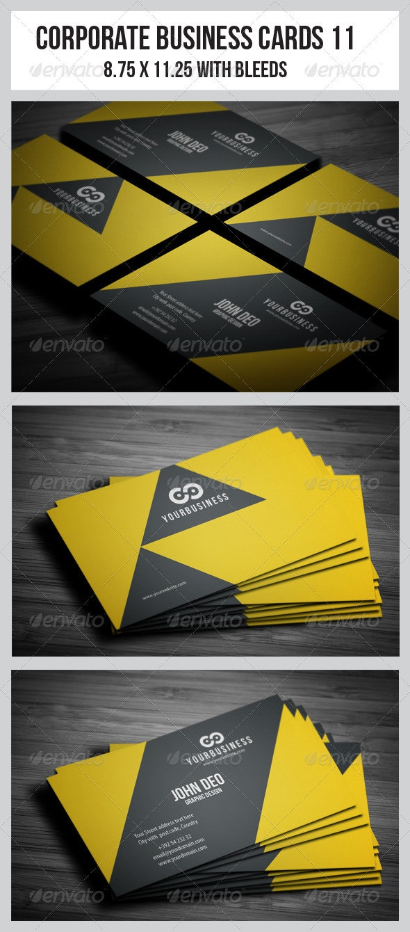 Corporate Business Cards 11 - Creative Business Cards