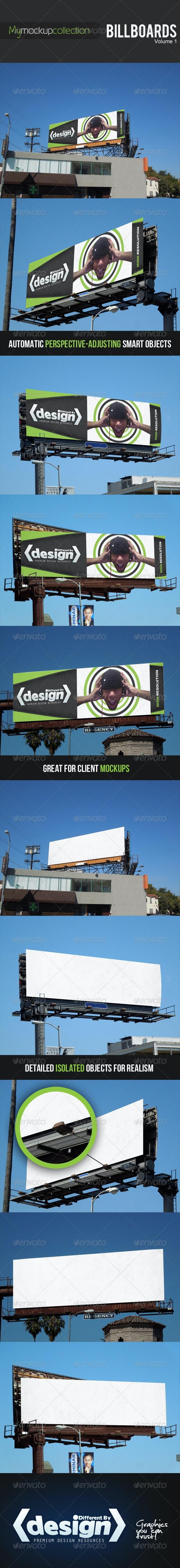 DBD | MyMockupCollection - Billboard Mockups - Signage Print