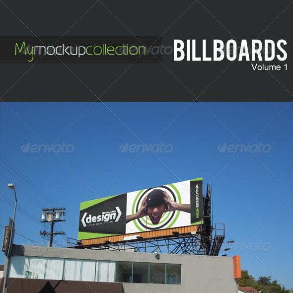 DBD | MyMockupCollection - Billboard Mockups