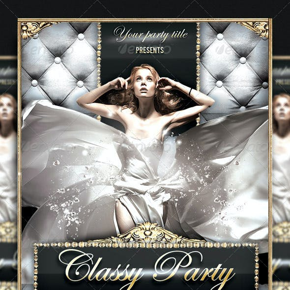 Classy Party Flyer