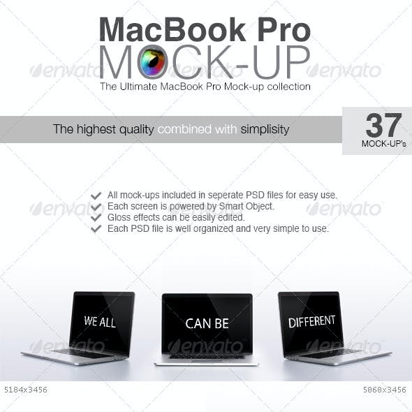 Macbook Pro Mock-up