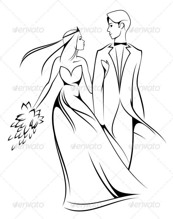 Bride and Groom - Weddings Seasons/Holidays