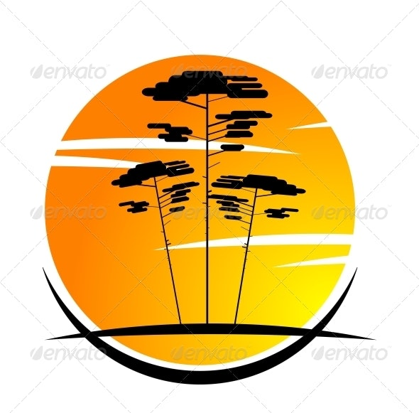 Nature Symbol - Landscapes Nature