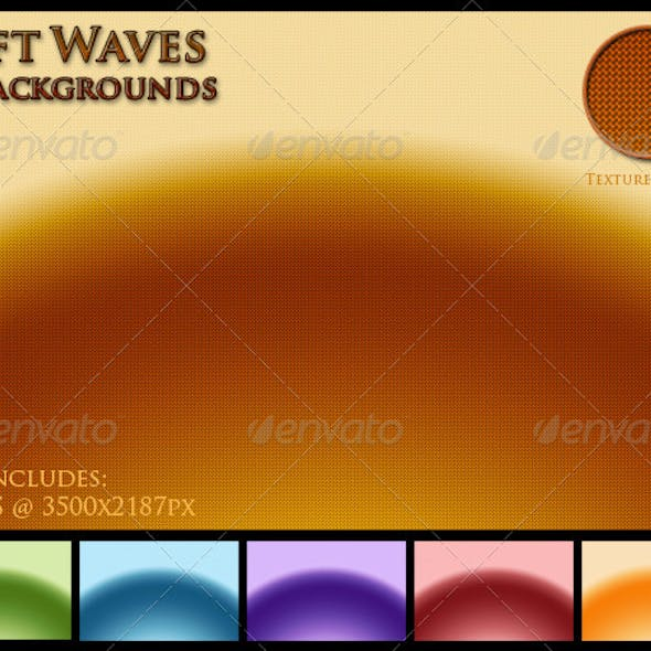 Soft Waves Backgrounds