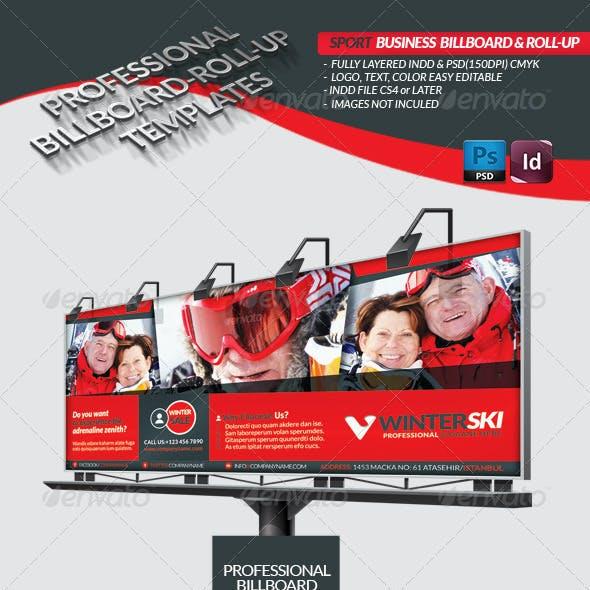Sport Business Billboard - Roll-Up