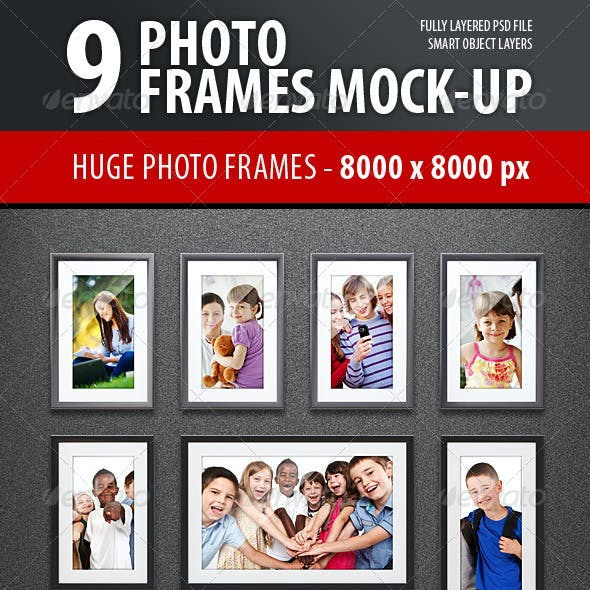 Photo Frames Mock-up