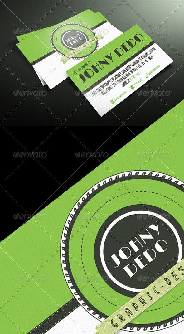 Retro Business Card Design - Retro/Vintage Business Cards