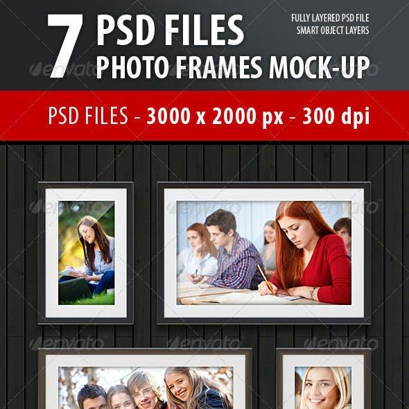 Photo Frames Mock-Up