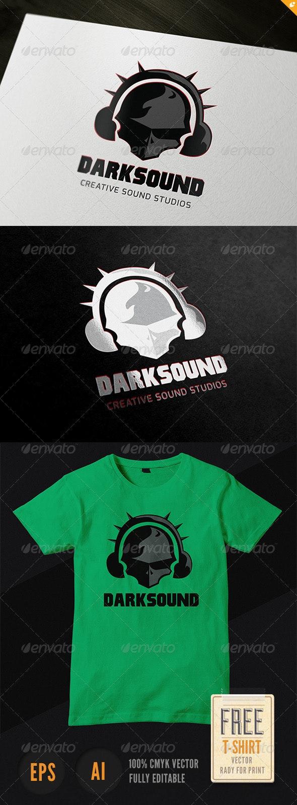Dark Sound Logo - Humans Logo Templates