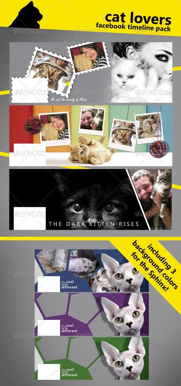 Cat Lovers FB Timeline - Facebook Timeline Covers Social Media