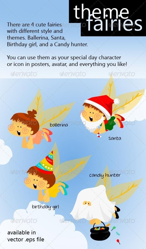 Theme Fairies - Miscellaneous Characters