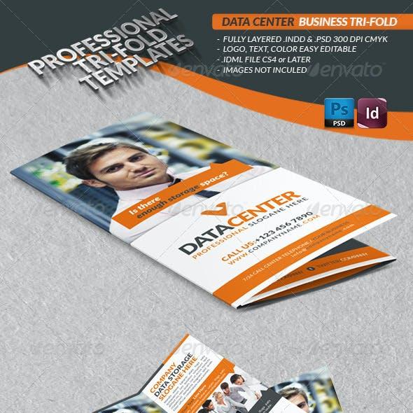 Data Center Business Tri-Fold