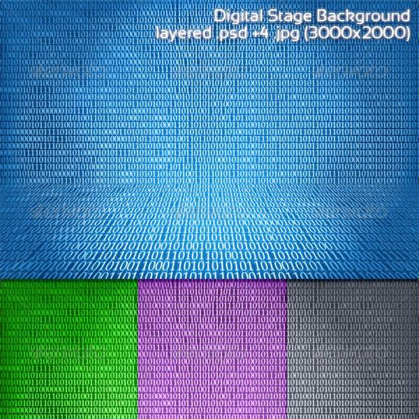 Digital Stage Background