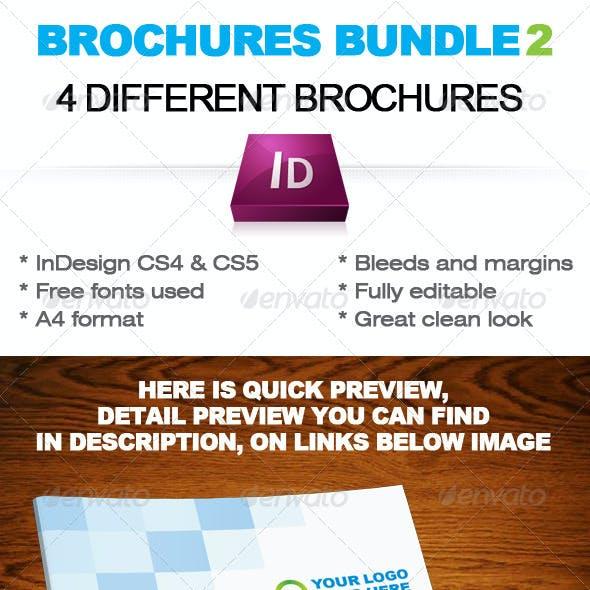 Brochures Bundle 2 InDesign template