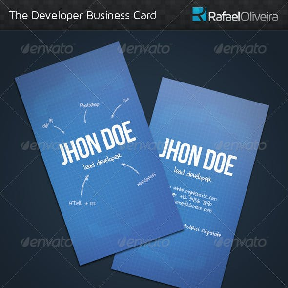 The Developer Business Card