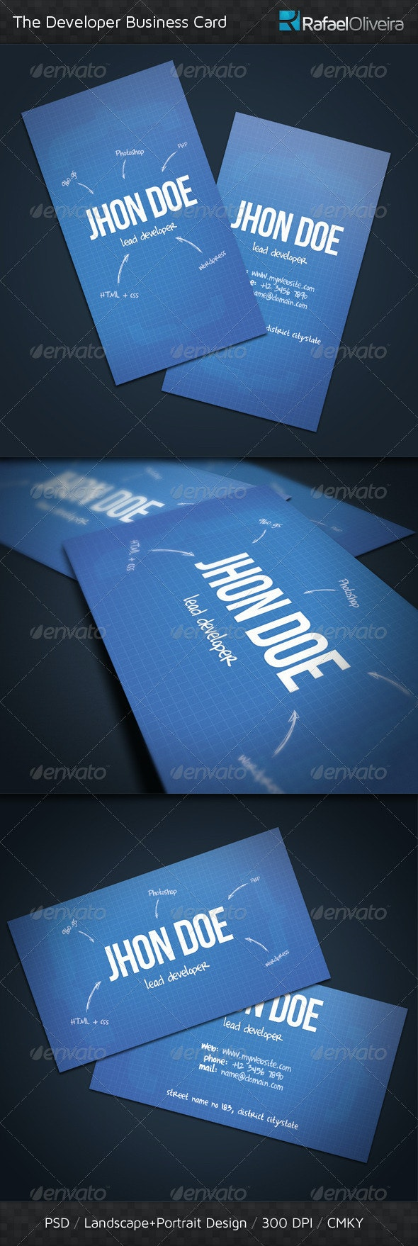 The Developer Business Card - Creative Business Cards