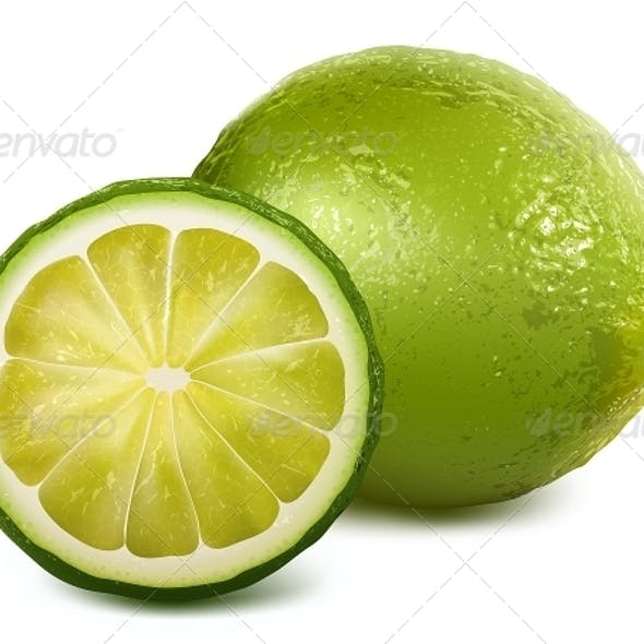Fresh Sliced Lime