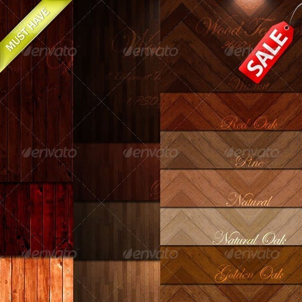 Wood Textures Bundle