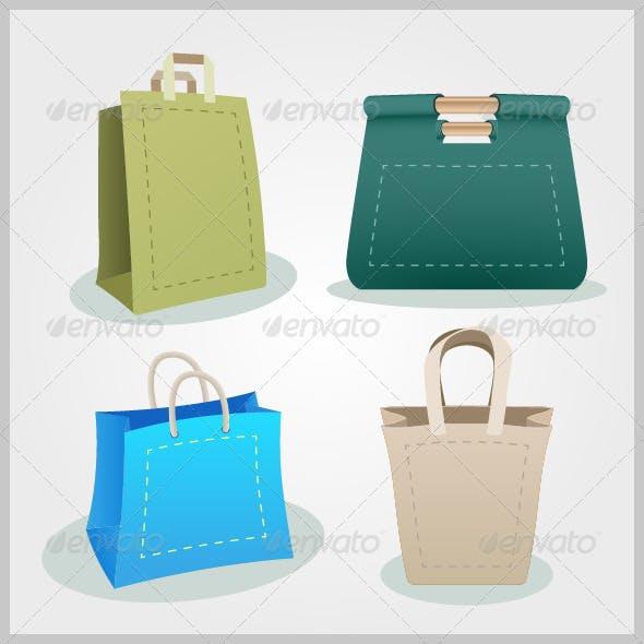 Four Shopping Bags