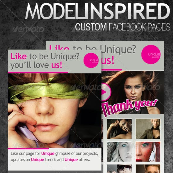 Inspired Custom Facebook Pages