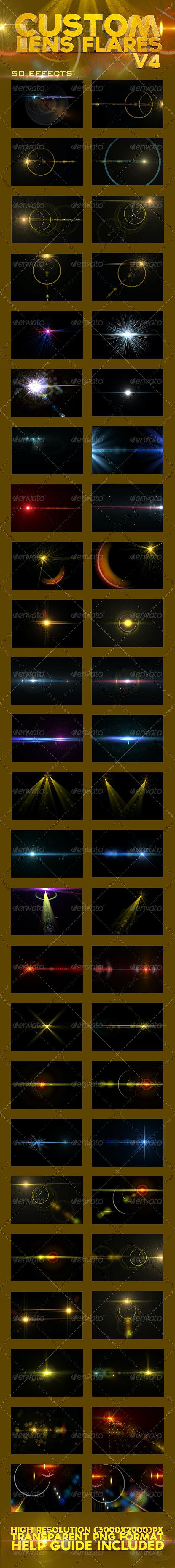 Custom Lens Flares V4 - Decorative Graphics