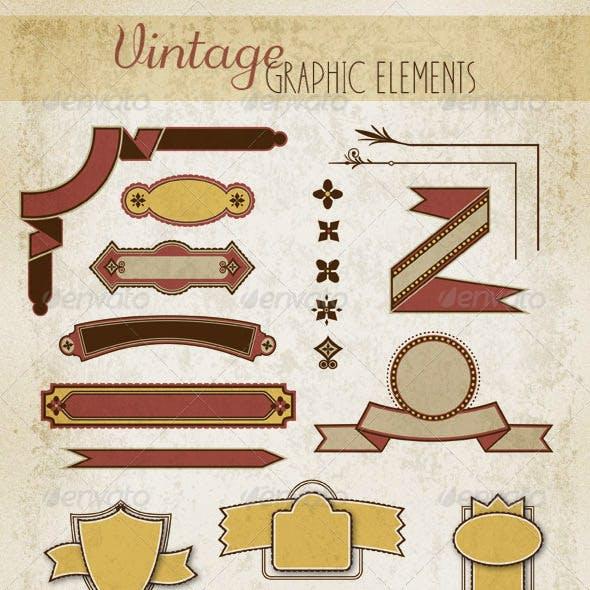 Badges, Ribbons & Decorative Elements