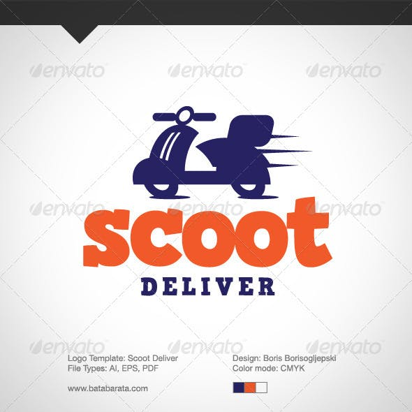 Scoot Deliver Logo
